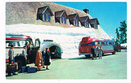 AM-16   MT RAINIER : Paradise Inn Snow Tunnel Entrance ( Busses ) - Unclassified