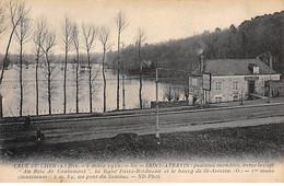 Crue Du Cher (1910) - SAINT AVERTIN - Prairies Inondées - Très Bon état - Saint-Avertin