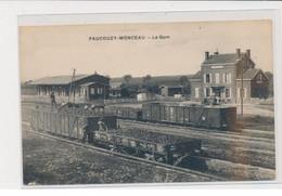 FAUCOUZY MONCEAU - La Gare - Trés Bon état - Other Municipalities