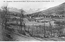 Environs De La Mure - N. D. De Vaux, Au Fond Le Mont Aiguille - Très Bon état - Sonstige Gemeinden