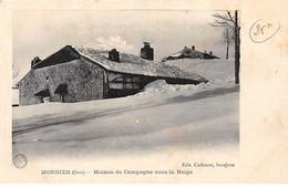MORBIER - Maison De Campagne Sous La Neige - Très Bon état - Sonstige Gemeinden