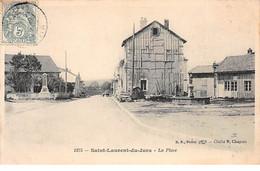 SAINT LAURENT DU JURA - La Place - Très Bon état - Otros Municipios