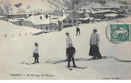 MOREZ - Un Groupe De Skieurs - Très Bon état - Morez