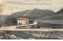 Route De Saint Claude à Clairvaux - Les Gorges Du Crozet - Très Bon état - Otros Municipios