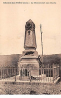CHAUX DES PRES - Le Monument Aux Morts - Très Bon état - Other Municipalities
