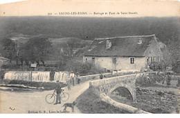 SALINS LES BAINS - Barrage Et Pont De Saint Benoit - Très Bon état - Otros Municipios