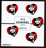 France Neuf ** - Bloc 2021 - Cœur Chanel N° 5 - Mint/Hinged