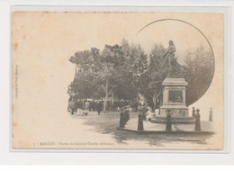 AJACCIO - Statue Du Général Charles Abbatucci - état - Ajaccio