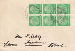 H 342) DR 1939 Mi# 515 (6) MeF München 25.1.39: An Dr, Franz Killig Degerhamn (Zementwerk), Schweden (s.Beschreibung) - Covers & Documents