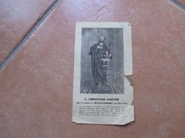 Immagine Sacra Devotion Image S.LIBERATORE Martire Massalubrense Difettoso - Devotion Images