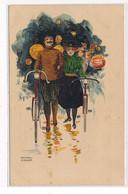 KIRCHNER RAPHAEL : D1 Signées Couple Avec Vélo - Etat - Kirchner, Raphael