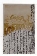 Le Sillon. ( Journal Catholique). Carte écrite Par Un Curé. RARE. - Andere