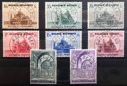 België, 1938 -- Nr 471-77A, OBP 31.5€ - Prachtig Centraal Gestempeld! - Gebraucht