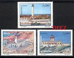 Année 2002-N°1319/1321 Neufs**MNH  : Les Phares D' Algérie - LIGHT-HOUSE - Argelia (1962-...)