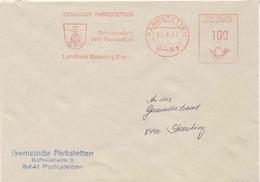 126  Ruche, Abeille: Ema D'Allemagne - Beehive In Coat Of Arms: German Meter Stamp Parkstetten Bee Honey Miel Apiculture - Honeybees