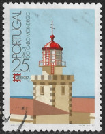 Portugal – 1987 Lighthouses 25. Used Stamp - Used Stamps