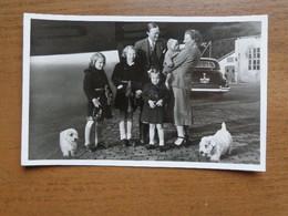 Nederland - Koningshuis / Foto Postkaart - Terug Van Vakantie Uit Zermatt, Soesterberg 17/4/1948 -> Onbeschreven - Sonstige
