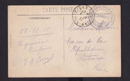 Carte-Vue En SM  Cachet DEPOT De CONVALESCENTS MILITAIRES - Villa Louise Ruel - CANNES 1917 - Armada Belga