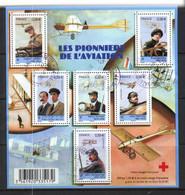 France 2010 Aviation Pioneers.Les Piibbuers De K'Aviation - Mi Bloc 134 Cancelled 5.1.2011 - Gebruikt