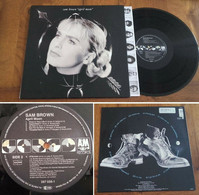"RARE Dutch LP 33t RPM (12"") SAM BROWN ""April Moon"" (1990) - Rock"