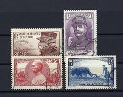 Frankreich Mi.467-470 Gestempelt Kat.20,-€ - Used Stamps