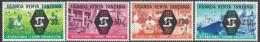 KUT, 1969 ILO 4 MNH - Kenya, Oeganda & Tanzania