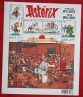 Asterix Cartoon OBC N° 3433-3438 123 (Mi 3481-3486 Bl 104) 2005 POSTFRIS MNH ** BELGIE / BELGIEN / BELGIUM - Unused Stamps