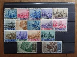 SAN MARINO 1949 - Paesaggi - Serie Completa Timbrata + Spese Postali - Used Stamps