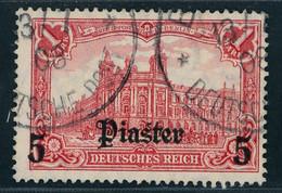 Deutsche Auslandspostämter Türkei Michel Nummer 44 Gestempelt - Deutsche Post In Der Türkei