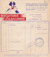 Biscuiterie Alsacienne Maisons Alfort 1937 - Food