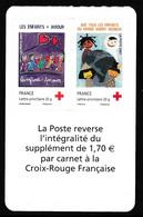 Paire Croix-Rouge Sans Bandes De Phosphore 145+146 - Adhésifs (autocollants)