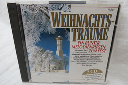 """2 CDs """"Weihnachtsträume"""" Ein Bunter Melodienreigen Zum Fest - Canzoni Di Natale"""