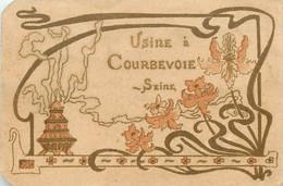 Publicités - Parfum - Parfumerie Brouillard - Coiffeur - 64 Rue Chaudrier - La Rochelle - Usine à Courbevoie - état - Advertising