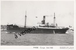 PHEBE Cargo 8-6-1950 - Cargos