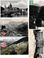 N 62  Lot 100 CPA Différentes De  Suisse - 100 - 499 Cartoline