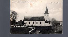 1403-OLLOMONT-eglise Tour Ancienne-censure Allemande WWI Militaria  -WIBRIN-->CHAMPLON 1918 - Houffalize