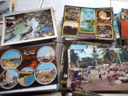 1300  CARTES ETRANGERE - 500 Cartoline Min.