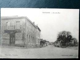 51  , Possesse, La Grande Rue En 1917 - Other Municipalities