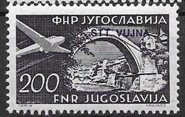 Trieste Mint Low Hinged 1954 (6 Euros) - Posta Aerea