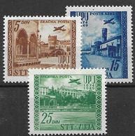 Trieste Mint Low Hinged 1949 UPU (35 Euros) - Nuovi
