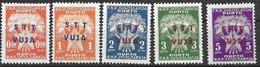 Trieste Mh * (10 Euros) 1949 From Postage Due Set - Segnatasse