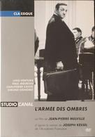 3 DVD Jean Pierre Melville. Le Cercle Rouge - L'armée Des Ombres - Un Flic. - Classic