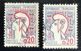 République Française - France - P5/6 - (°)used - 1961 -  Michel 1335 - Marianne - Type Cocteau - Usados
