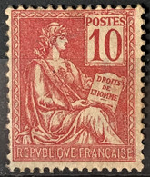 FRANCE 1900/01 - MLH - YT 116 - 10c - Unused Stamps