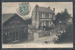 CPA 14 - Hennequeville, La Poste - LL - Autres Communes