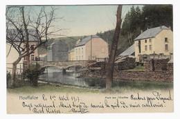 HOUFFALIZE : Pont Sur L'Ourthe - En Couleurs - Circulée En 1907 Vers Bruxelles - Ed. Nels Série 26 N° 137 - 2 Scans - Houffalize