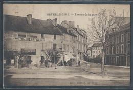 CPA 12 - Séverac-Gare, Avenue De La Gare - Other Municipalities