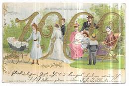 Prosit Neujar 1902 Die Lebensalter Les Ages De La Vie Serie 1129. Dessin 3. - New Year