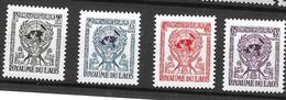 Laos Mnh ** 8,5 Euros UNO ONU 1956 (4 Stamps) - Laos