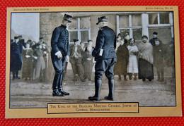 MILITARIA - Le Roi Albert I Rencontrant Le Général Joffre - The Belgian King Albert I Meeting General Joffre - Guerra 1914-18